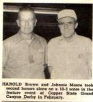 Harold Brown & Johnnie Moore