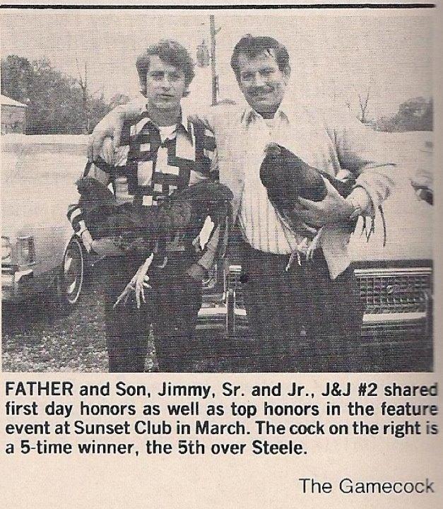 Jimmy East sr. & jr